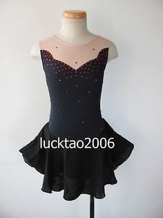 Gorgeous Figure Skating Dress Ice Skating Dress #6012 Size 12