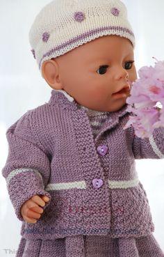 Tricot poupée en mode été