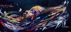 Paris by Hopare - Street Art by Hopare  <3 <3
