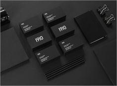 Creative Agency Branding: 1910 Design & Communication - Logo Designer