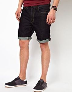 Black Chocoolate Denim Shorts Asos £42