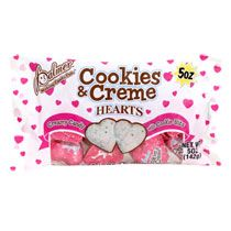 Palmer Foil-Wrapped Cookies & Creme Hearts, 5-oz. Bags