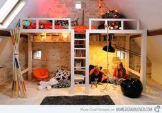 loft bed diy - Google Search