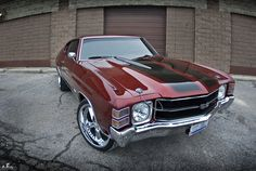 1971 Chevelle SS, been in love with this car since I was like ten :( still want it