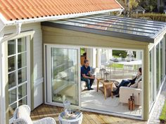 Aluminium Terrassenüberdachung Mit Glaseinsatz-ein Modell Für Den ... Bioklimatische Terrassenuberdachungen Biossun