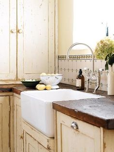 French country kitchen by Stacy1027