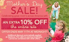 Mothers Day Sale at Kids Creations