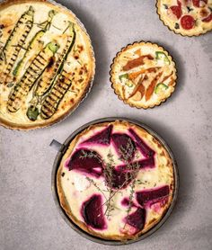 Trio Pizza Pies - choose your favorite pizza toppings or make them all