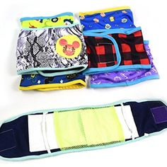 Gotoole Male Pet Dog Sanitary Pants Nappy Band Soft Training Toilet Belly Strap Diapers size 14 *** Want to know more, click on the image. (This is an affiliate link) #Dogs