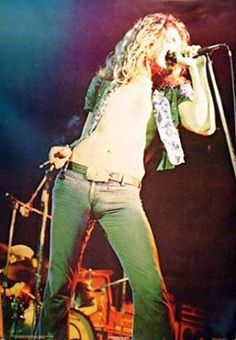 Robert Plant- seriously, there is no one cooler than him. The ultimate frontman.