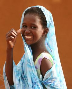 Africa | A big smile in the streets of Bareina, Mauritania | © Ferdinand Reus
