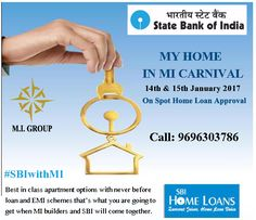 It's show time today.. MY HOME IN MI CARNIVAL. On Spot Home Loan Approval. #SBIwithMI http://sbiwithmi.com/