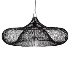Iron Hanging Lamp I Black
