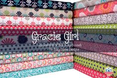 Gracie Girl by Lori Holt of Bee in my Bonnet for Riley Blake Designs.