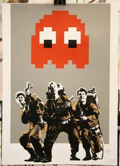 Ghostbusters com Pac-Man