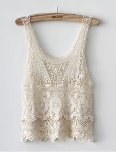 Lace tank for layering