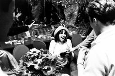 Today is Liza Minelli's Birthday. And this is a great photo from another bday of hers in 1967.