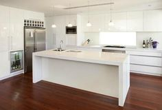 White kitchen bench nice white kitchen island bench for home decor inspirations with white kitchen island . Kitchen Island Bench, White Kitchen Island, Best Kitchen Cabinets, Kitchen Benches, Kitchen Cabinet Design, New Kitchen, Kitchen Ideas, Island Table, Kitchen Layout