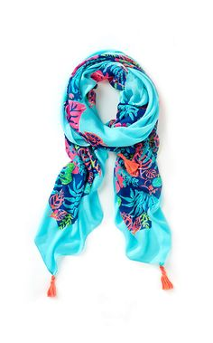 Lilly Pulitzer Sailaway Square Scarf