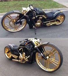 Custom Vrod Harley - Motocycle Pictures and Wallpapers Vrod Custom, Bobber Custom, Custom Baggers, Custom Harleys, Motos Bobber, Honda Bobber, Honda Motorcycles, Custom Motorcycles, Honda Cb750