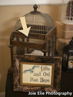 MOdern Harry Potter gift sign