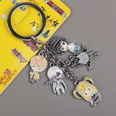 Anime Death Note Keychain // Price: $4.29 & FREE Shipping Worldwide //    #shingekinokyojin #japanese #illustration #lol #dbz #doodle