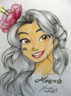 New Disney princess Moana coming 2016 I love her already. She's so cute!