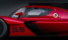 Mazda just knocked everyone at the LA Auto Show flat on their asses with the company's gorgeous new IMSA race car. You may never want to miss another race, because you don't want to miss catching a glimpse of this stunning machine. Sports Car Racing, Road Racing, Race Cars, Automotive News, Automotive Design, Race Engines, Car Manufacturers, Concept Cars, Mazda