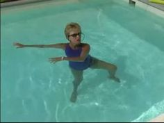 Water Aerobics Exercises : How to Do a Russian Twist for Water Aerobics