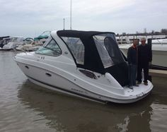 Happy Boating to the O'Connell family enjoy your NEW Rinker 290 EC! They just purchased their Rinker from @HideAwayYachtSales in Harrison Twp, MI! Congrats you guys~ and thank you for choosing Rinker! #RinkerSportsBoats #boat #NGG #RinkerExpressCruisers #Nauticglobalgroup #fishing #Boats #SyracuseIndiana #Ilovemyboat #Syracuse #FiberglassBoats #fishingboat #HideawayYachtSales