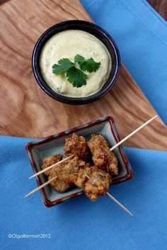 Fried Oysters with Curry Yogurt Dipping Sauce | Mango & Tomato