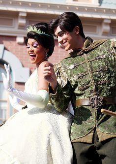Tiana and Prince Naveen.