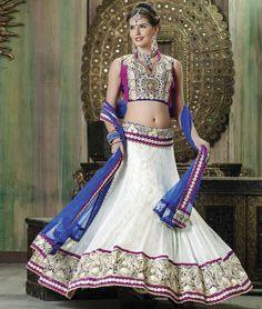 A Designer #LehengaCholi to give you a stunning look at any #wedding and #Party. Visit at:- http://www.shoppers99.com/lehenga_choli/designer_lehenga_choli_collection