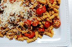 Mmmmm. Mmm. Mmmmmmmmmm. Mmmmm. Okay, now that that's over with, let me show you my favorite chick food pasta salad—the one I always make on Fourth of July. I used to make a pasta salad …