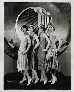 1927 Risque Flapper Photograph Art Deco Jazz Baby Hollywood EXTRAS MGM Chorines | eBay