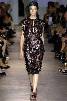 Prada Spring 2007 Paillette Dress