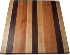 Butcher Block Cutting Board - Edge Grain - Walnut, Cherry, & Rock Maple by Armani Fine Woodworking. $89.00. All natural Mineral Oil & Beeswax finish. Handmade in Colorado, USA by Armani Fine Woodworking. Made from hand selected domestic hardwoods. Food safe construction. Solid Cherry, Walnut, & Hard Rock Maple construction. This beautiful, Handmade Walnut, Cherry, & Rock Maple Edge Grain Butcher Block Cutting Board will travel from my small shop directly to your kitchen. You'll ...