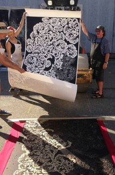 Big Print project steamrolls its way onto Granville Island   Georgia Straight Vancouver's News & Entertainment Weekly