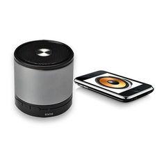 Haut parleur bluetooth Apple Pc PSP mp3 gris