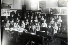 Brockley Road School c1936 by D H Wright, via Flickr