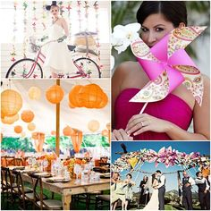 Love Wed Bliss Inspiration Board: Whimsical Decorations