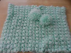 DIY: crochet a tube scarf (puff stitch)