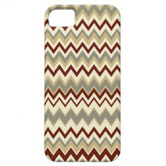 Modern and trendy iPhone 5 phone case features an maroon ,green and cream zigzag chevron stripe pattern. Cute and unique design and a perfect cool gift idea for her / him or anyone on any occasion