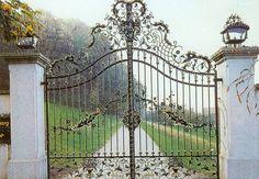 Wrought Iron Gates | Buy wrought iron driveway gate from China