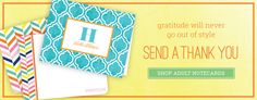 Adult Thank You Cards