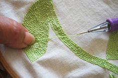 Milk and Honey Quilts: Punch Needle Tutorial