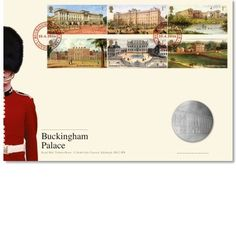 Buckingham Palace PMC. £14.95  Limited edition 9000. Elegant medal cover focusing on Buckingham Palace
