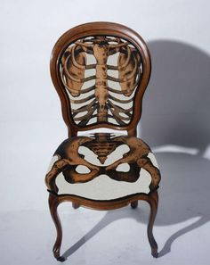 #bones #chair #design