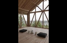 New life for ski resort – Lofthusetin Vallsta, Sweden byHanna Michelson. Photo:Hanna Michelson. #architecture in #wood