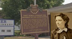 Licking Co. native ran for president in 1872, the first woman ever ...